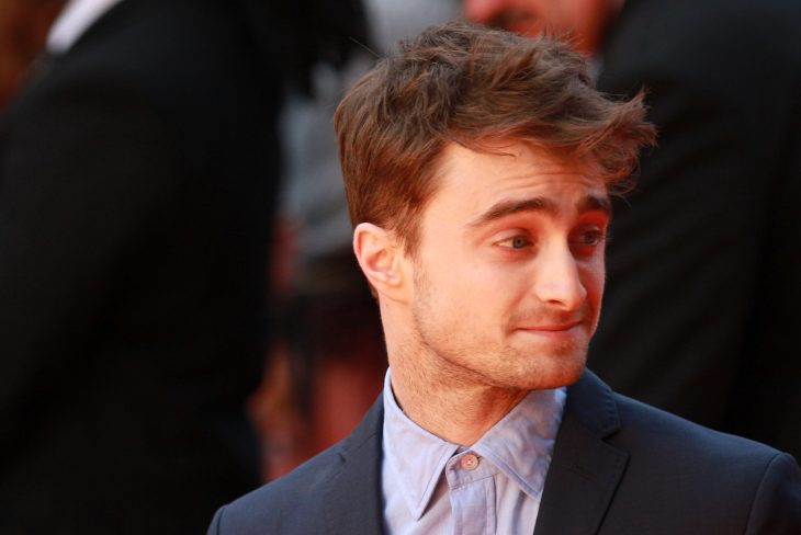 LONDON - AUGUST 12: Daniel Radcliffe attends the UK Premiere of What if at the Odeon West End on August 12, 2014 in London (Editorial credit: Twocoms / Shutterstock.com)