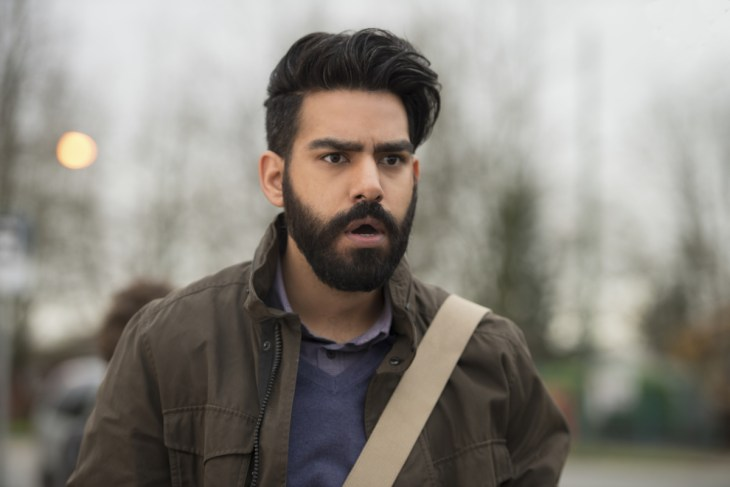 "iZombie -- ""Conspiracy Weary"" -- Image Number: ZMB311b_0017.jpg -- Pictured: Rahul Kohli as Ravi -- Photo: Diyah Pera/The CW -- © 2017 The CW Network, LLC. All rights reserved."