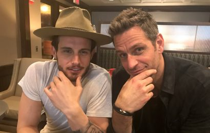 Nico Tortorella and Peter Herrman - Younger (photo credit: Ashley Bissette Sumerel