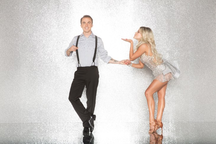 """DANCING WITH THE STARS - FRANKIE MUNIZ AND WITNEY CARSON - The celebrity cast of """"Dancing with the Stars"""" are donning their glitzy wardrobe and slipping on their dancing shoes as they ready themselves for their first dance on the ballroom floor, as the season kicks off on MONDAY, SEPTEMBER 18 (8:00-10:01 p.m. EST), on the ABC Television Network. (ABC/Craig Sjodin)"""