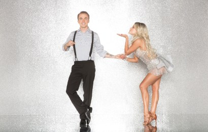 "DANCING WITH THE STARS - FRANKIE MUNIZ AND WITNEY CARSON - The celebrity cast of ""Dancing with the Stars"" are donning their glitzy wardrobe and slipping on their dancing shoes as they ready themselves for their first dance on the ballroom floor, as the season kicks off on MONDAY, SEPTEMBER 18 (8:00-10:01 p.m. EST), on the ABC Television Network. (ABC/Craig Sjodin)"