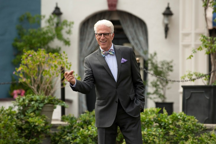 """THE GOOD PLACE -- """"Everything is Great!"""" Episode 201 -- Pictured: Ted Danson as Michael -- (Photo by: Colleen Hayes/NBC)"""