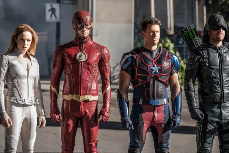 """DC's Legends of Tomorrow Season 3 Episode 8 -- """"Crisis on Earth -- X, Part 4"""""""