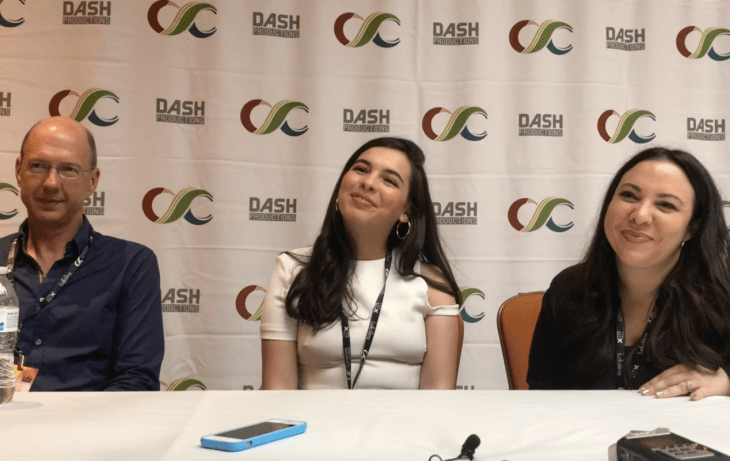 One Day at a Time. Roundtable Interview. Mike Royce, Isabella Gomez, and Gloria Calderon Kellett