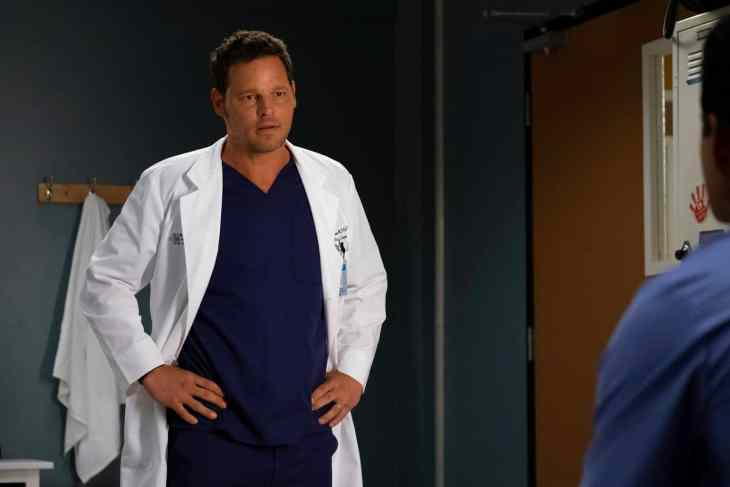 Grey's Anatomy Season 15 Episode 3 - Justin Chambers and Dr. Alex Karev