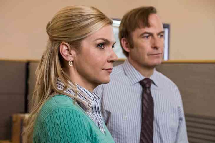 Better Call Saul Season 4 Episode 6 - Rhea Seehorn as Kim Wexler, Bob Odenkirk as Jimmy McGill