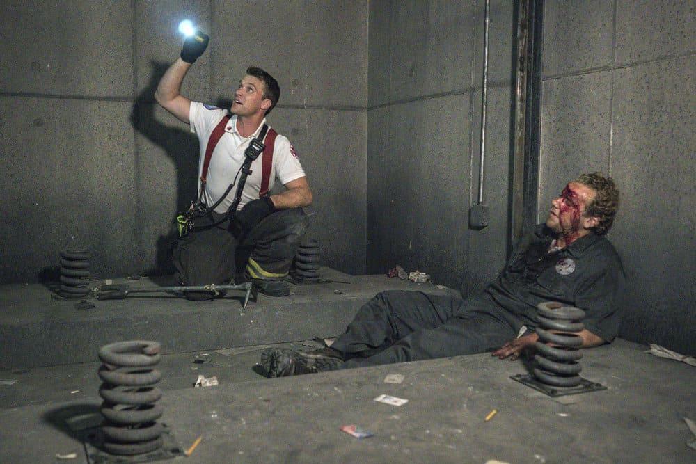 Chicago Fire Season 7 Episode 1 - Jesse Spencer as Matthew Casey