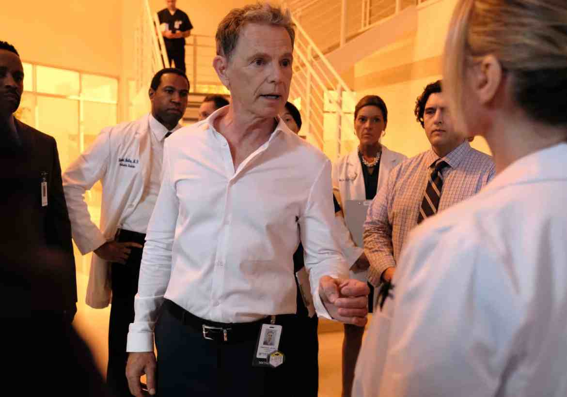 The Resident Season 2 Episode 1 - Bruce Greenwood as Randolph Bell
