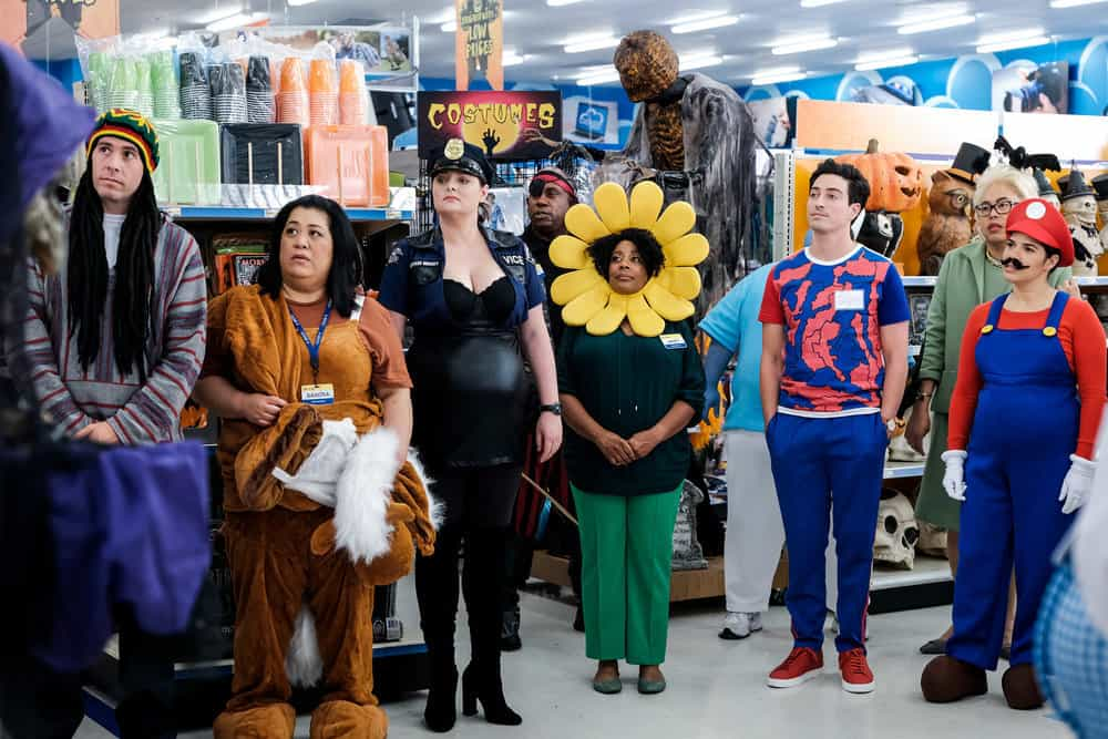 superstore review costume competition