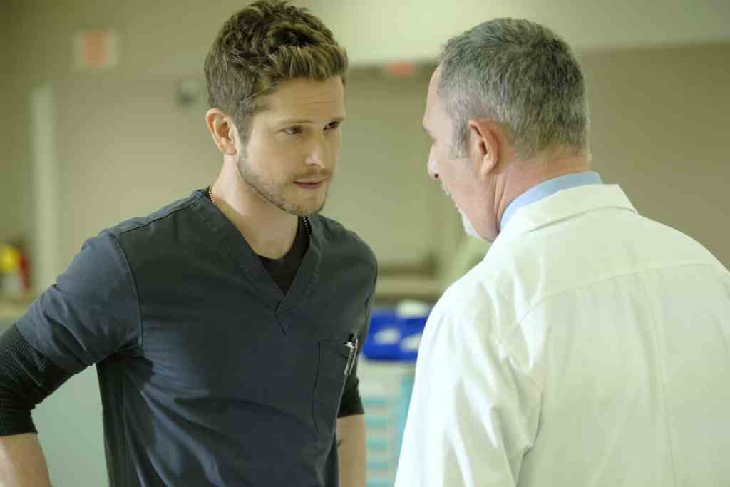 The Resident Season 2 Episode 7 - Matt Czuchry as Conrad Hawkins and Andy Milder
