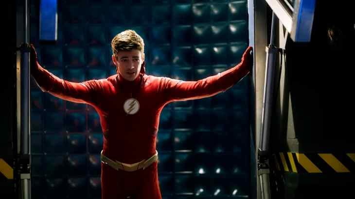 The Flash Season 5 Episode 10 - Grant Gustin as Barry Allen