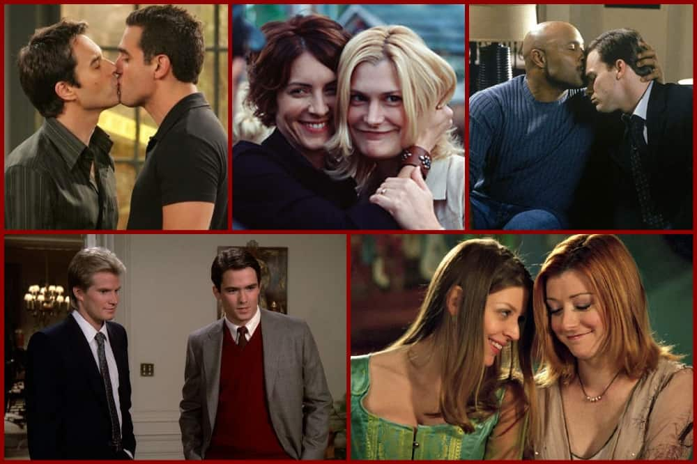 20 Fantastic Classic LGBTQ+ Couples on TV