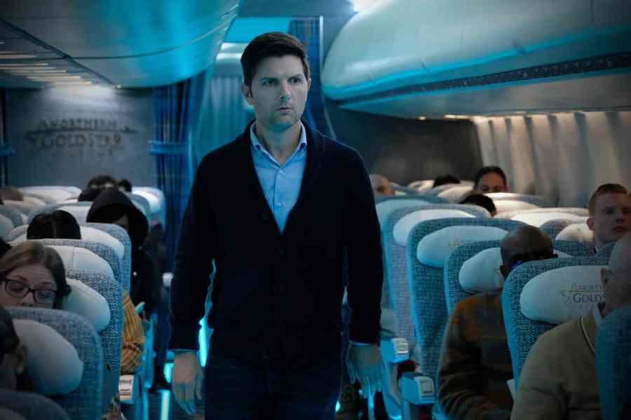 "THE TWILIGHT ZONE - ""Nightmare at 30,000 Feet"" -- Adam Scott as Justin Sanderson"
