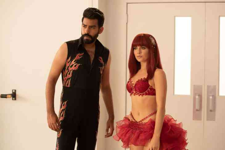 iZombie Season 5 Episode 3 - Rahul Kohli as Ravi and Rose McIver as Liv