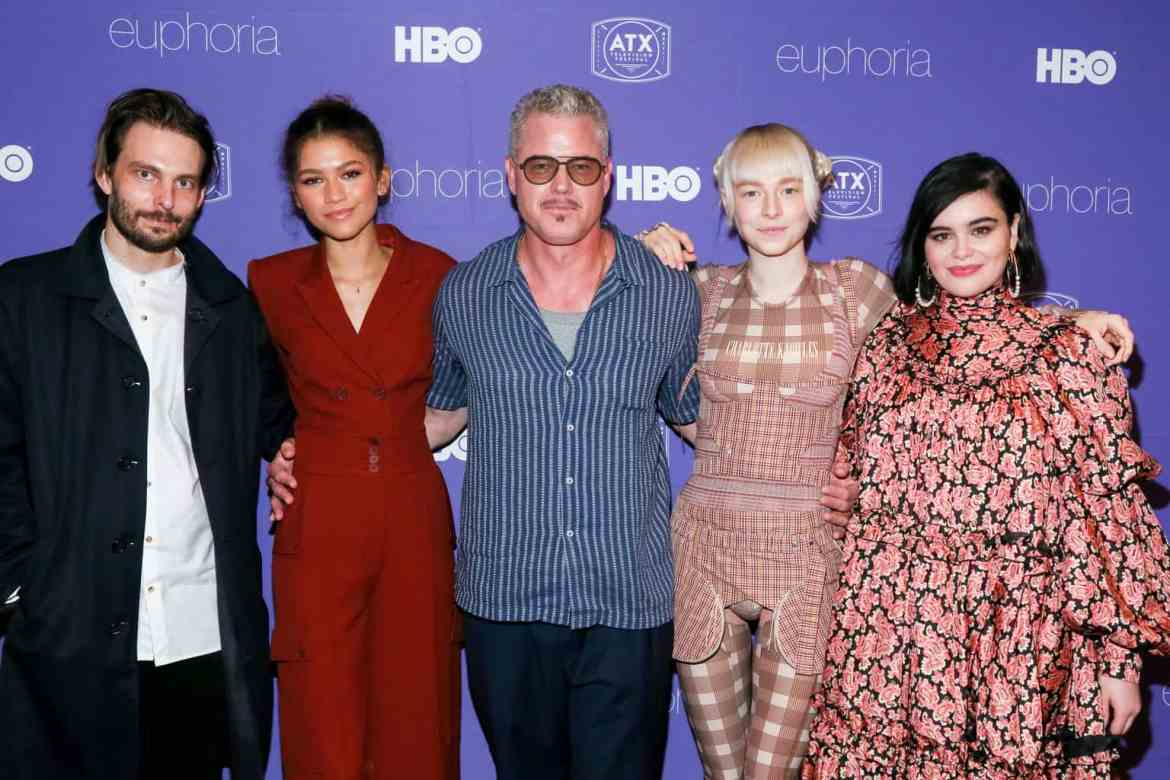 Euphoria cast at the ATX Television Festival Opening Night Red Carpet-15