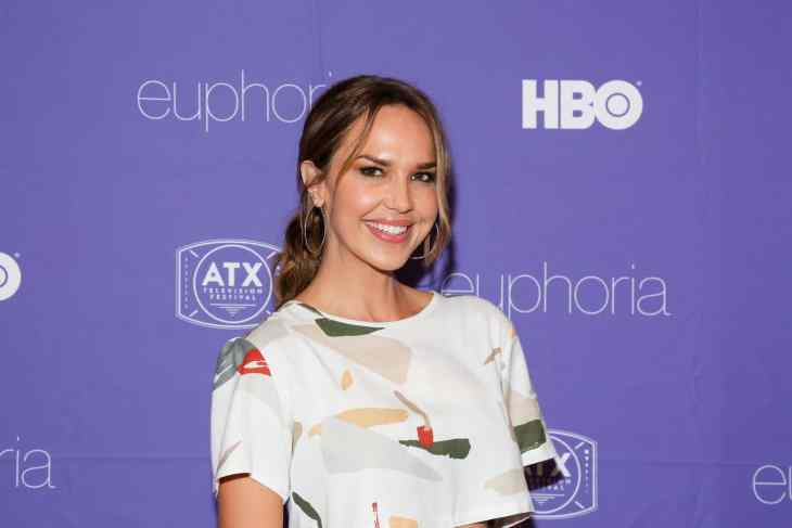 Arielle Kebbel at the ATX Television Festival Opening Night Red Carpet for Euphoria