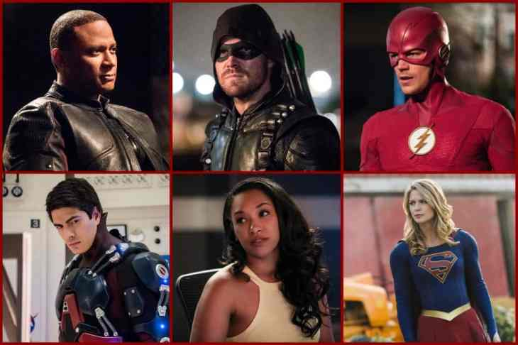 arrowverse before they were heroes
