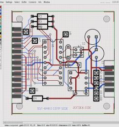 lpr2dmx board layout [ 1049 x 928 Pixel ]