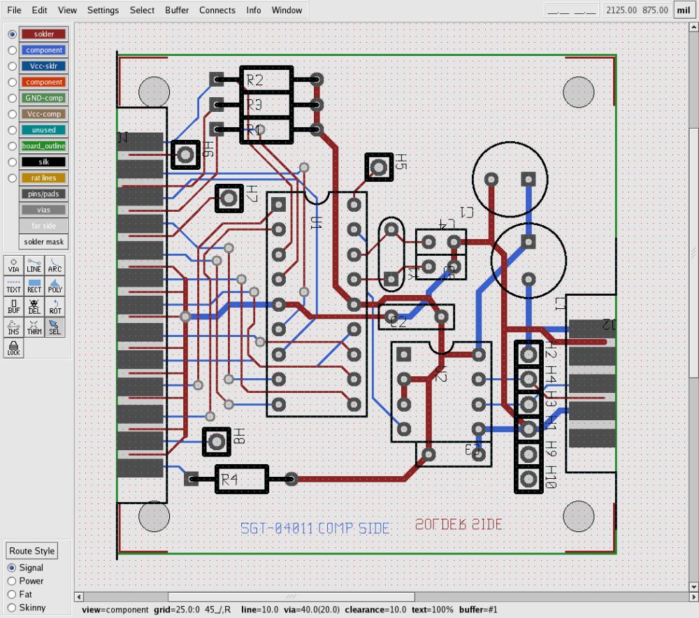 medium resolution of lpr2dmx board layout