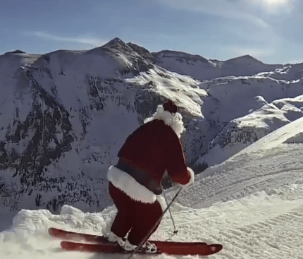 Secret Camera Catches Santa in the Act