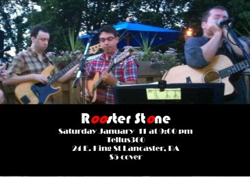 Rooster Stone Tellus360 Gig 011114