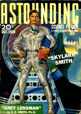 """The Lensman series, by E. E. """"Doc"""" Smith, the father of space opera and the muse of Tellus Venture Associates"""