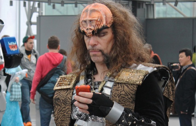 Klingon texting