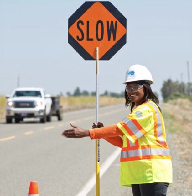 Caltrans slow