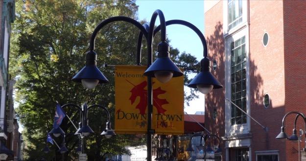 Charlottesville streetlights