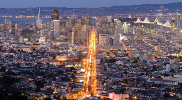 San francisco skyline 625
