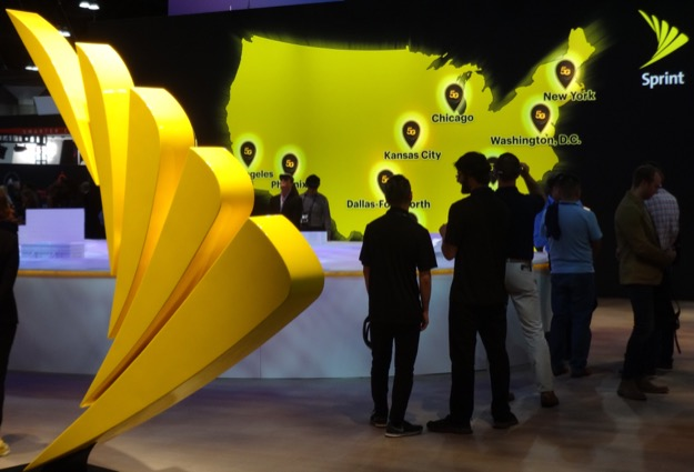 Sprint booth mwc la 2019 22oct2019