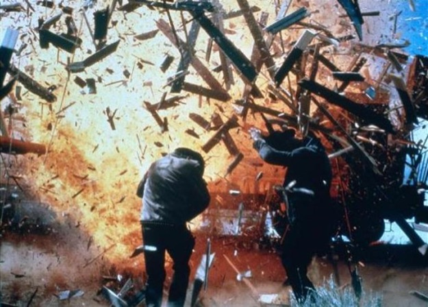 Butch cassidy explosion