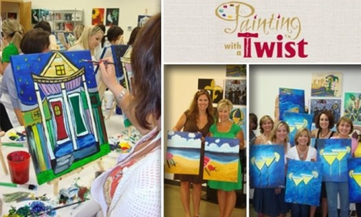 Have You Ever Hear Of Attended Painting With A Twist Or Something Similar