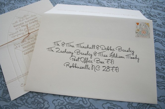 Wedding Invitation Address Labels Tacky Or Not Tellwut Com