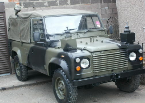 1979 Us Army Military Police Cars