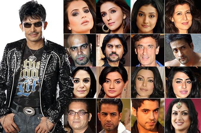 Kamaal R Khan reveals the names of Bigg Boss 8 contestants