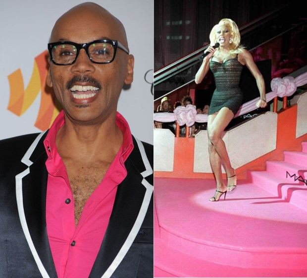 This controversial American celebrity can be talked and rumoured about for a long time. Actor, drag queen, model and musician already got recognition in the 1990-s. RuPaul is described as the pioneer among the drag queens and the one who made it mainstream. He came out as gay at the age of 12 and has never denied his preferences since.