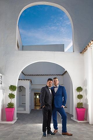 mariage au patio d'Emanuelle