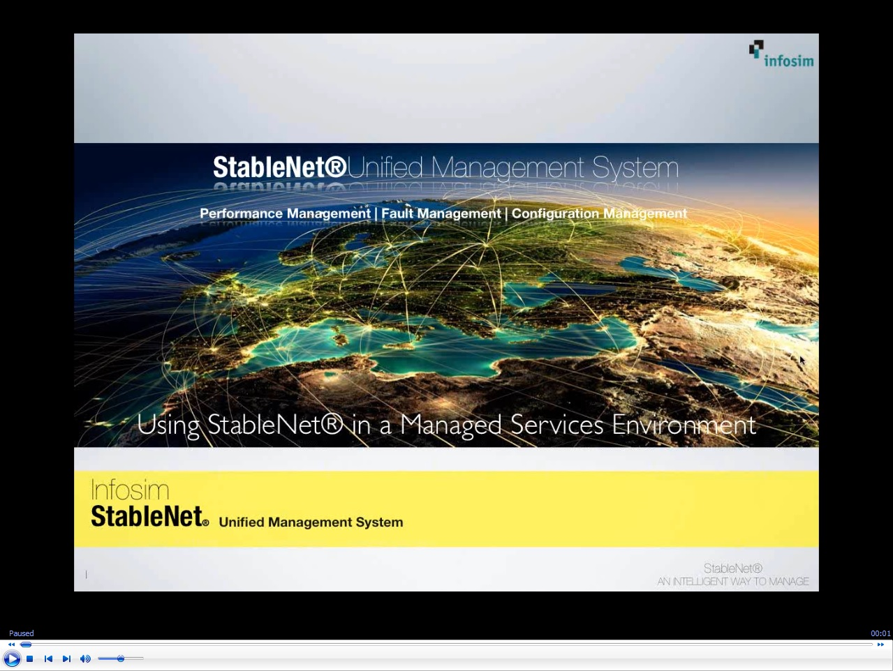 Webinar-Maximize Your ROI Using your StableNet in a Managed Services Environment