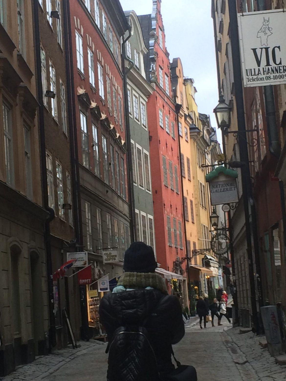 Estocolmo en 4 días: Källargränd, Gamla Stan.