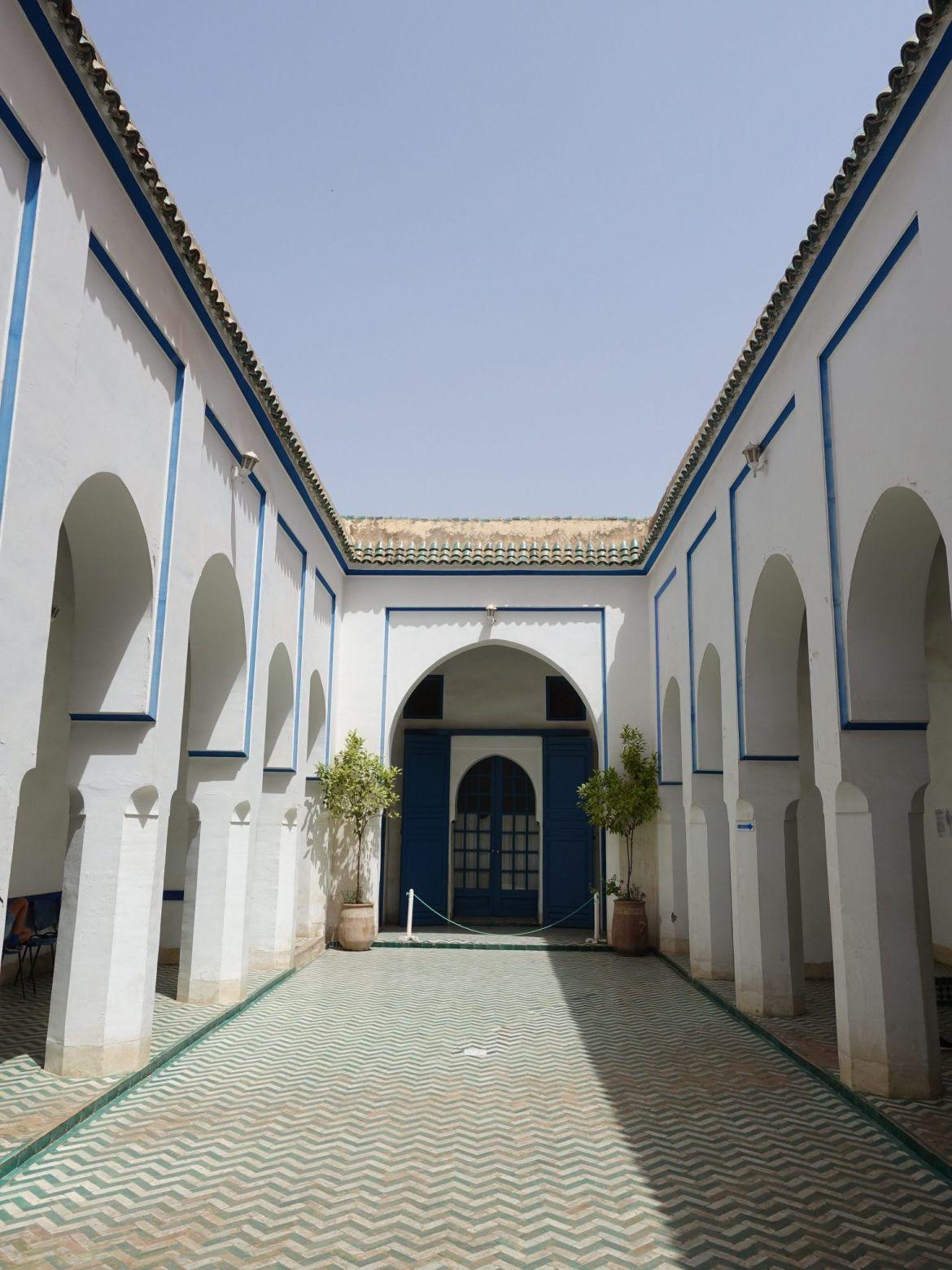 Palacio de la Bahía: Marrakech en una semana