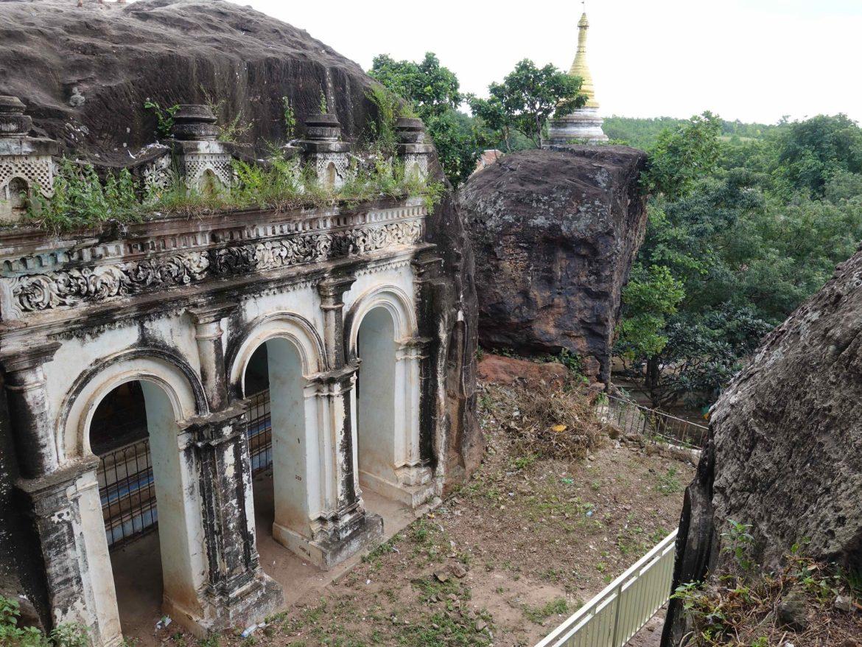 Cuevas en Monywa, Myanmar