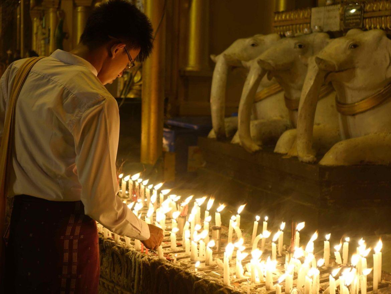 Shwedagon Pagoda, Yangón