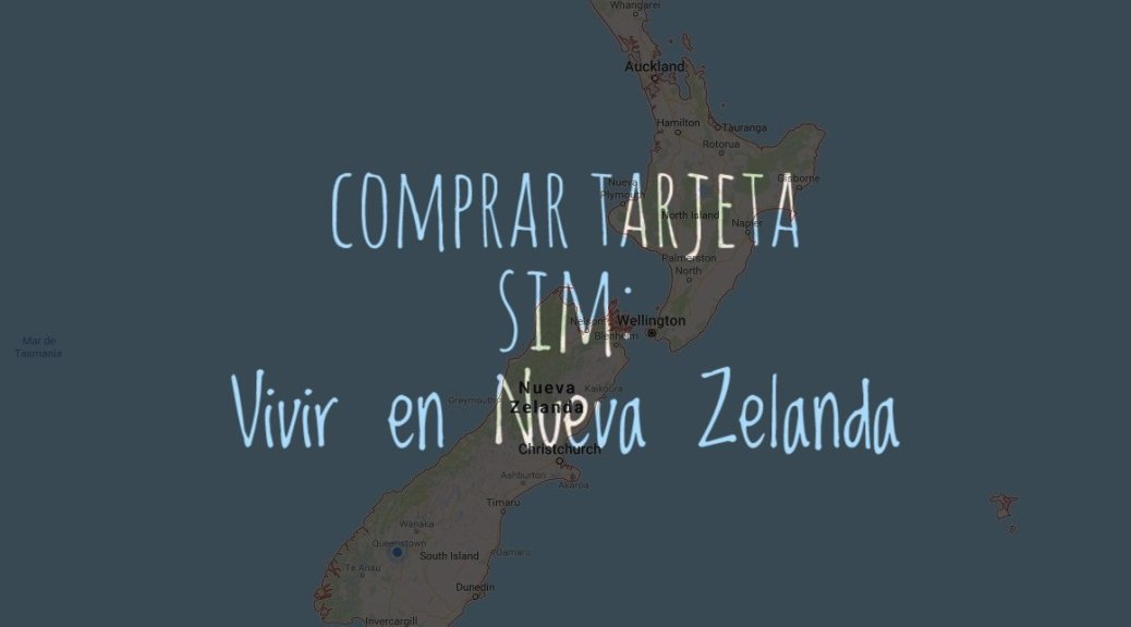 comprar tarjeta SIM en Nueva Zelanda