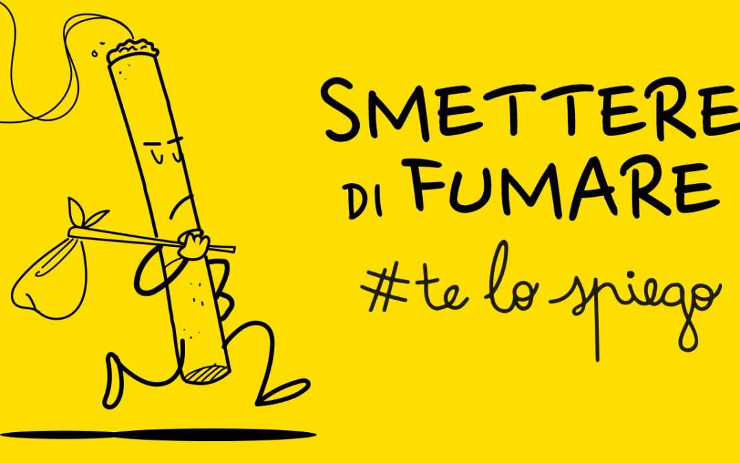 Perché non riesci a smettere di #FUMARE? #TELOSPIEGO!