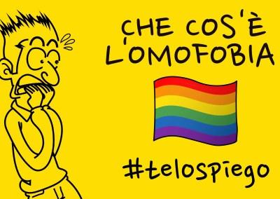 CHE COS'È L'OMOFOBIA? 👨❤️💋👨 👩❤️💋👩 😱 #TELOSPIEGO!