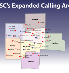 customers with tsc s telephone service who reside in wapakoneta cridersville lima and st marys enjoy free local calling to all areas denoted with red  [ 6000 x 4488 Pixel ]