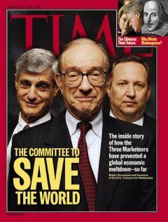 Rubin, Greenspan and Summers