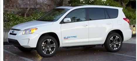 100 Miles Per Gallon Toyota Rav4 EV