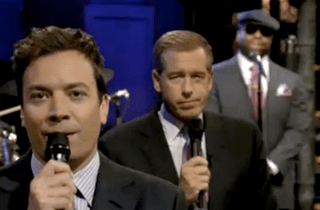 Brian Williams and Jimmy Fallon Slow Jam the News